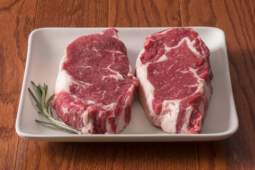 HarvestBox Grass Fed Beef Delmonico Ribeye Steak