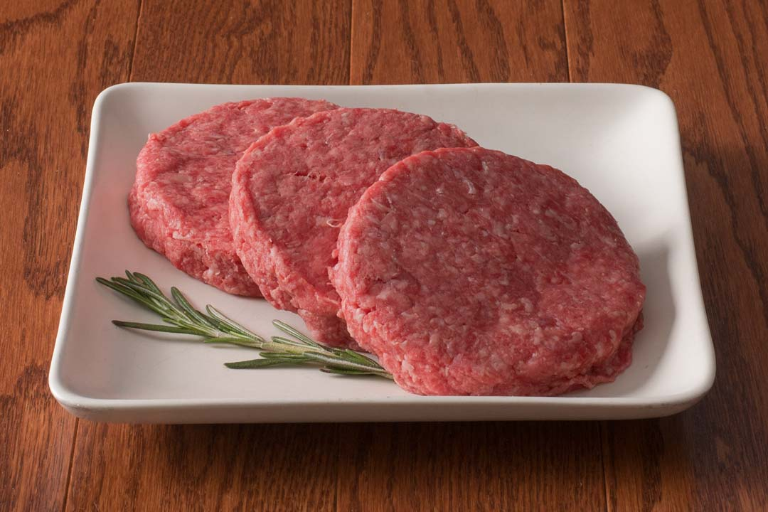 HarvestBox Grass-Fed Beef Ground Beef Patties