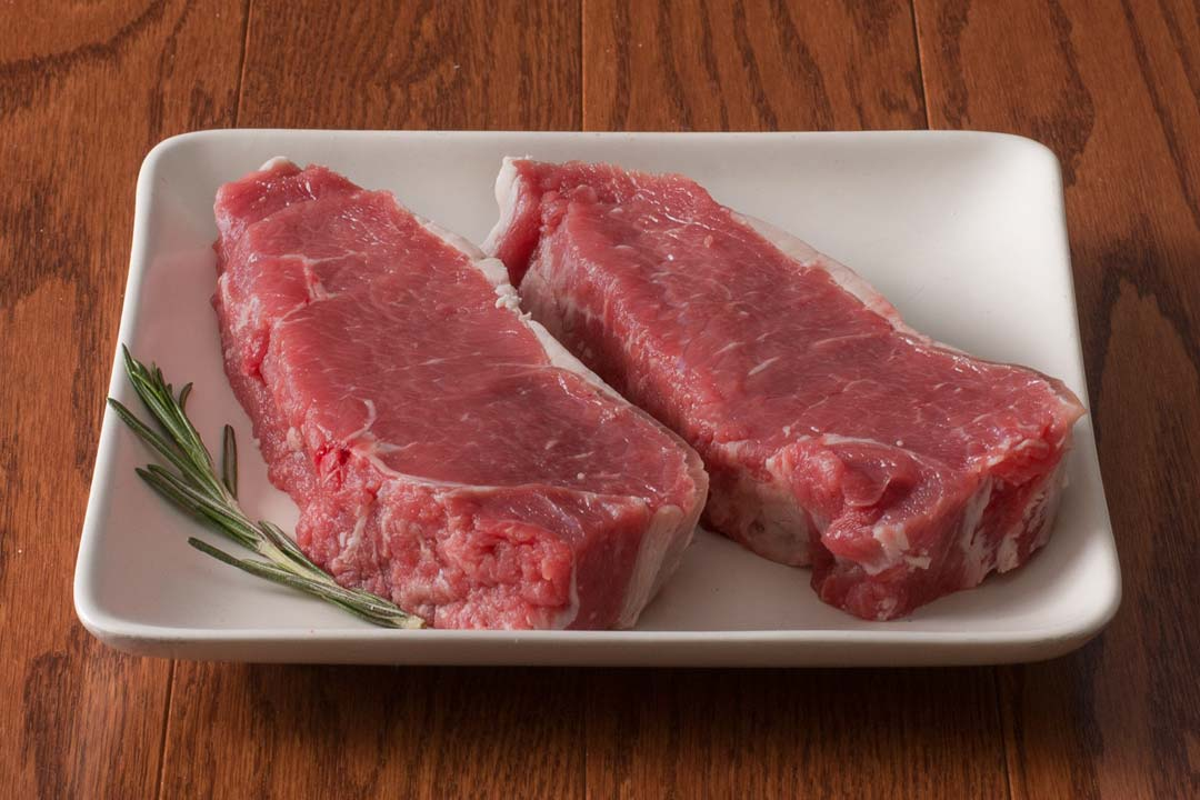 HarvestBox Grass Fed Beef New York Strip Steak